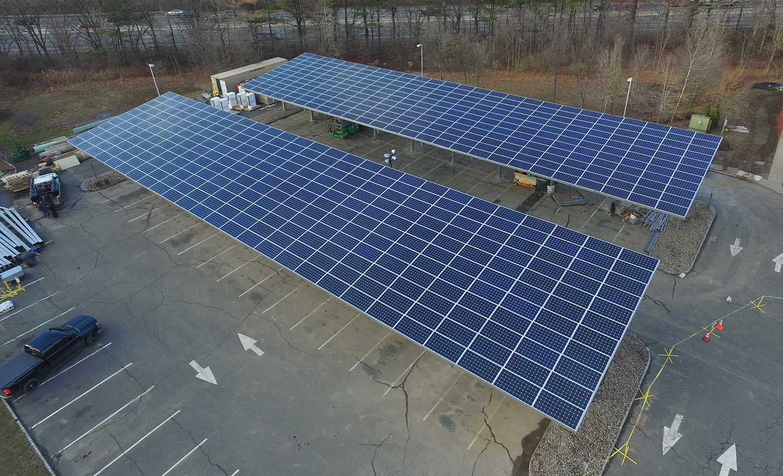 Solar carports photo.
